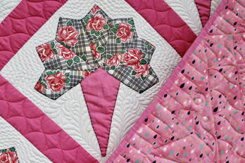Photo of Vintage Quilt Custom Quilted